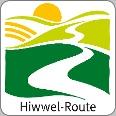 Routenlogo für die Hiwwel-Route