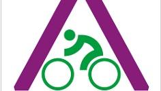 Routenlogo für den Ahr-Radweg