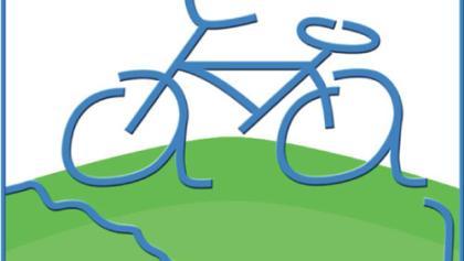 Routenlogo für den Aar-Radweg
