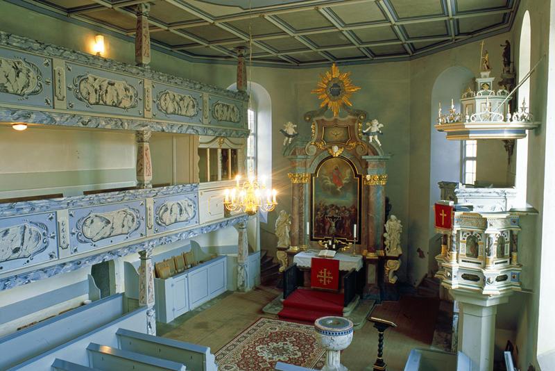 Georgenkirche Somsdorf, Innenansicht