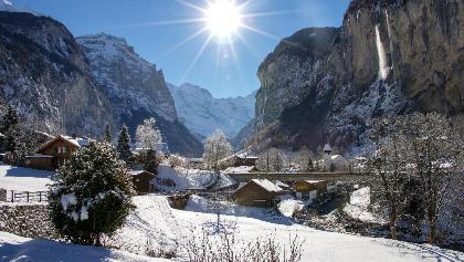 Lauterbrunnental Winter