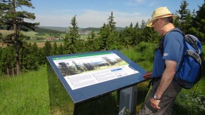 Panoramablick von der Reuther Platte