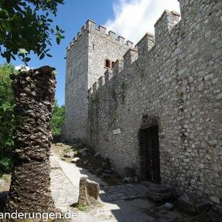 Die venezianische Burg auf der Akropolis