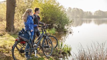 Radfahren von See zu See