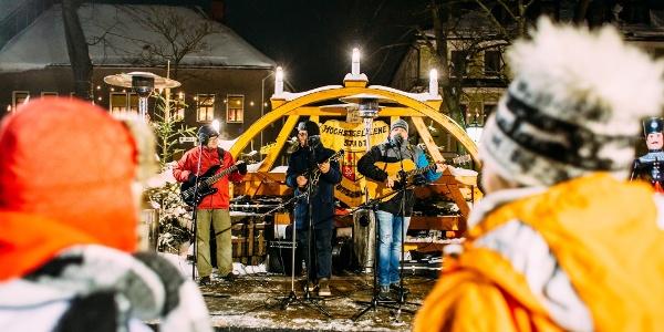 Konzert auf der Marktbühne zum Neujahrsmarkt