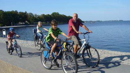 Radspaß mit der ganzen Familie