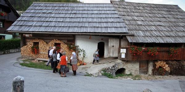 Oplen house in Studor