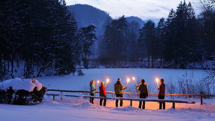 Winterwanderung in Füssen
