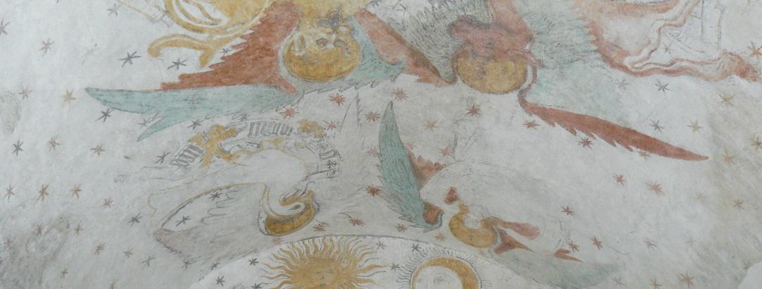 Wandmalereien der Kapelle auf dem Ramsberg