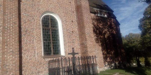 Vendels kyrka, sydöstra väggen