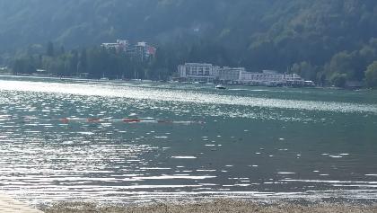 Blick über den Ossiacher See
