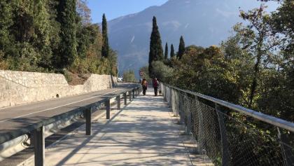 Neuer Rad- und Gehweg in Limone sul Garda