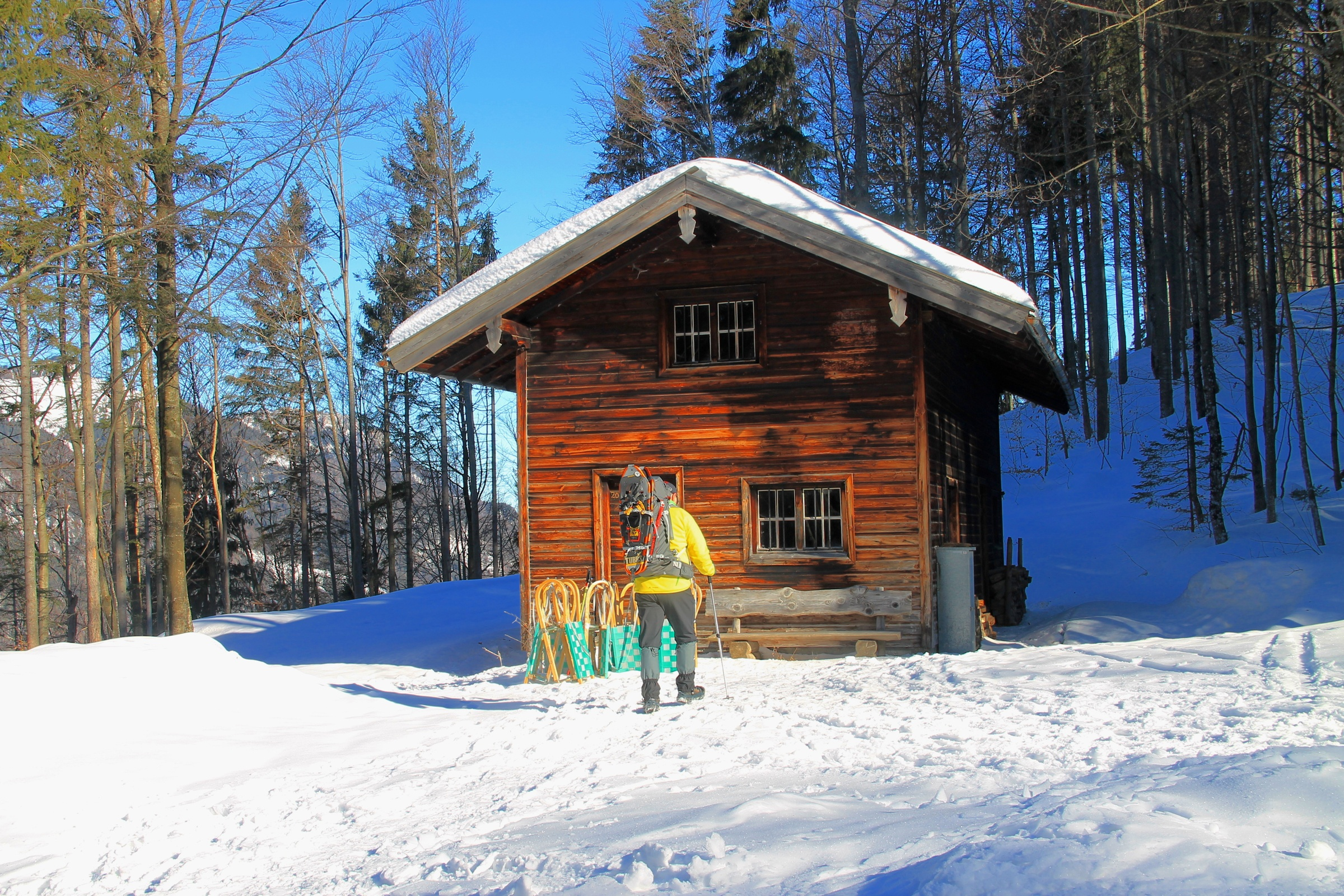 Winterwanderweg auf den Geigelstein
