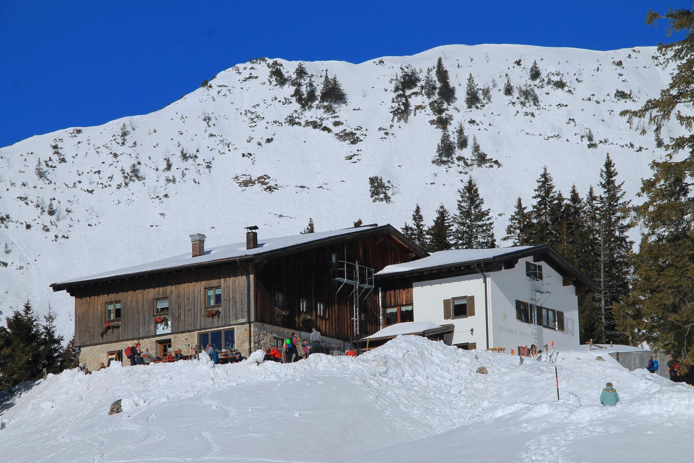 Priener Hütte am Geigelstein