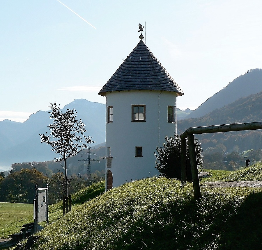 Wasserturm Bergham-©Quelle: Gemeinde Bernau a. Chiemsee