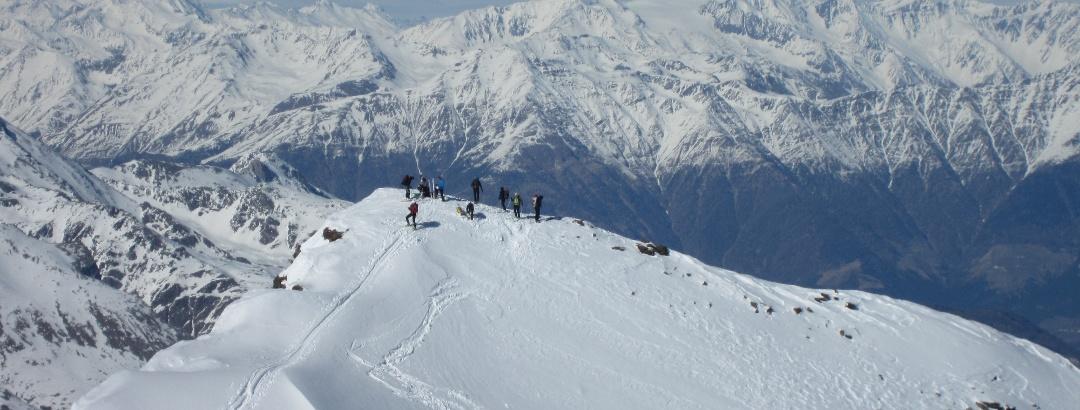 2. Veneziaspitze im Winter
