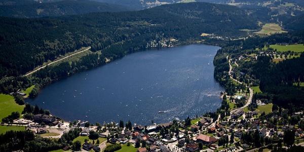 Luftbild von Titisee