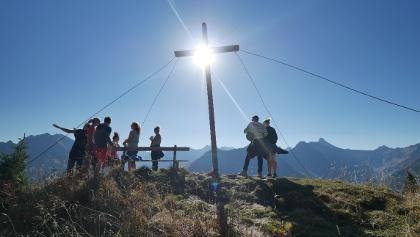 Am Gipfel des Lachenkopfes
