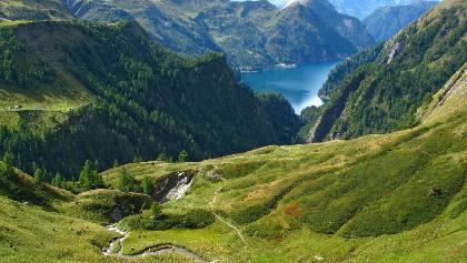 Lago di Luzzone.