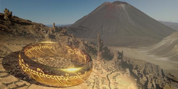Mount Ngauruhoe - the model for Mount Doom