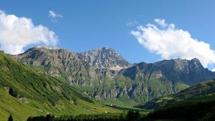 Landschaft bei Thalkirch.