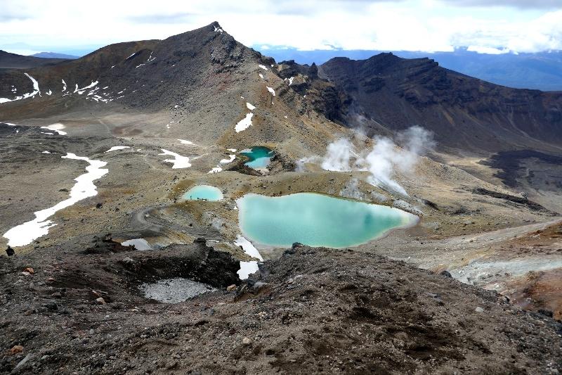 Emerald Lakes im Tongariro Nationalpark