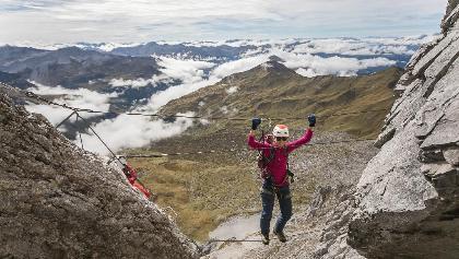 Klettersteig Sulzfluh : Die schönsten klettersteige in sankt antönien