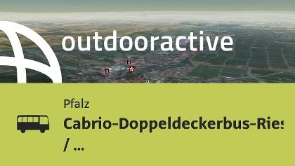 Interaktives 3D Erlebnis: Cabrio-Doppeldeckerbus-Riesling-Tour / Mai-Oktober