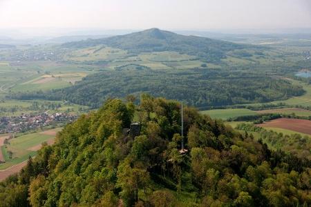 Luftbild Hohenhewen