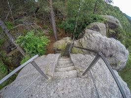 Foto Aussichtsfelsen an den Brüdersteinen
