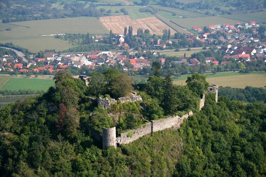 Burgen im Hegau B3 - Vier Burgruinen auf einen Streich