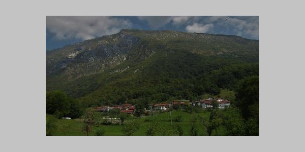 Beneath the village of Magozd