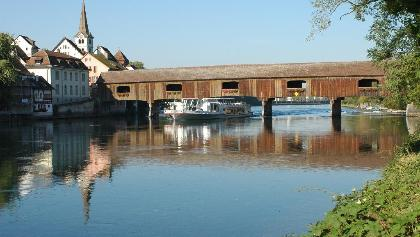 Rheinbrücke zwischen Gailingen und Diessenhofen (CH)