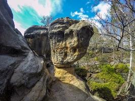 Foto Wilde Felsen auf dem Zurückesteig