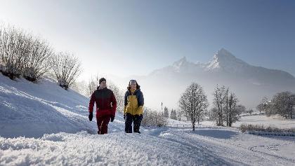 Winterwandern in Berchtesgaden