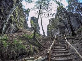 Foto Der Weg auf den Gamrig