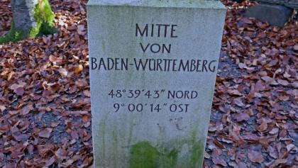 Der Mittelpunkt von Baden-Württemberg