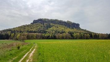 Foto auf dem Weg zum Lilienstein