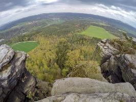 Foto Aussicht vom Lilienstein
