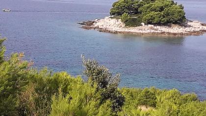 Kleines Inselchen  zwischen Jasenovo und Grebastica