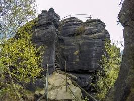 Foto Auf dem Lilienstein gibt es zahlreiche Aussichtspunkte