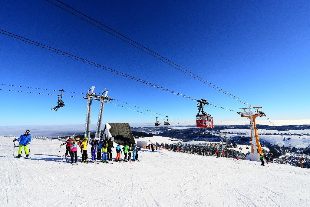 Skifahren in Sachsen