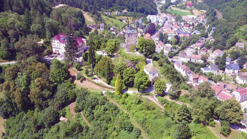 Blick auf den Schlossberg
