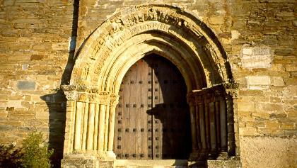 """das """"Heilige Tor"""" in Villafranca"""