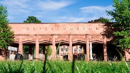 Das Grassimuseum am Leipziger Johannisplatz
