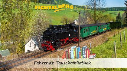 SDG Fichtelbergbahn - fahrende Tauschbibliothek