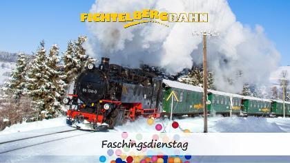 SDG Fichtelbergbahn - Faschingsdienstag