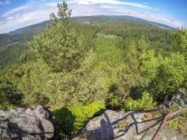 Foto Aussicht vom Großen Pohlshorn in Richtung Norden