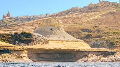 Wanderung in Xwejni, Gozo