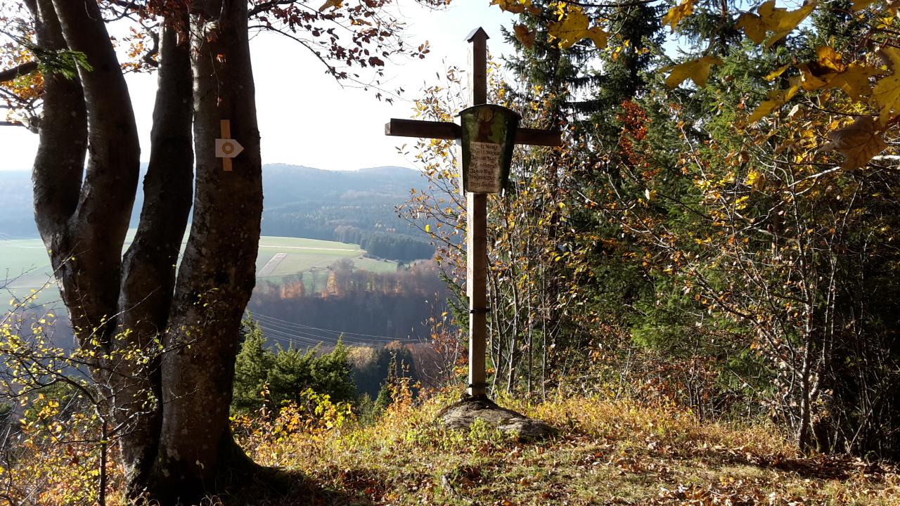 Ausblick vom Jägerkreuz